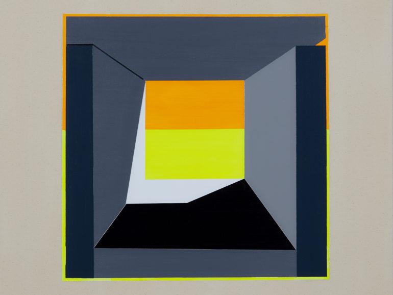 Marfa Abstraction XXV, 2020  //  Acrylic on Canvas  //  80cm x 80cm